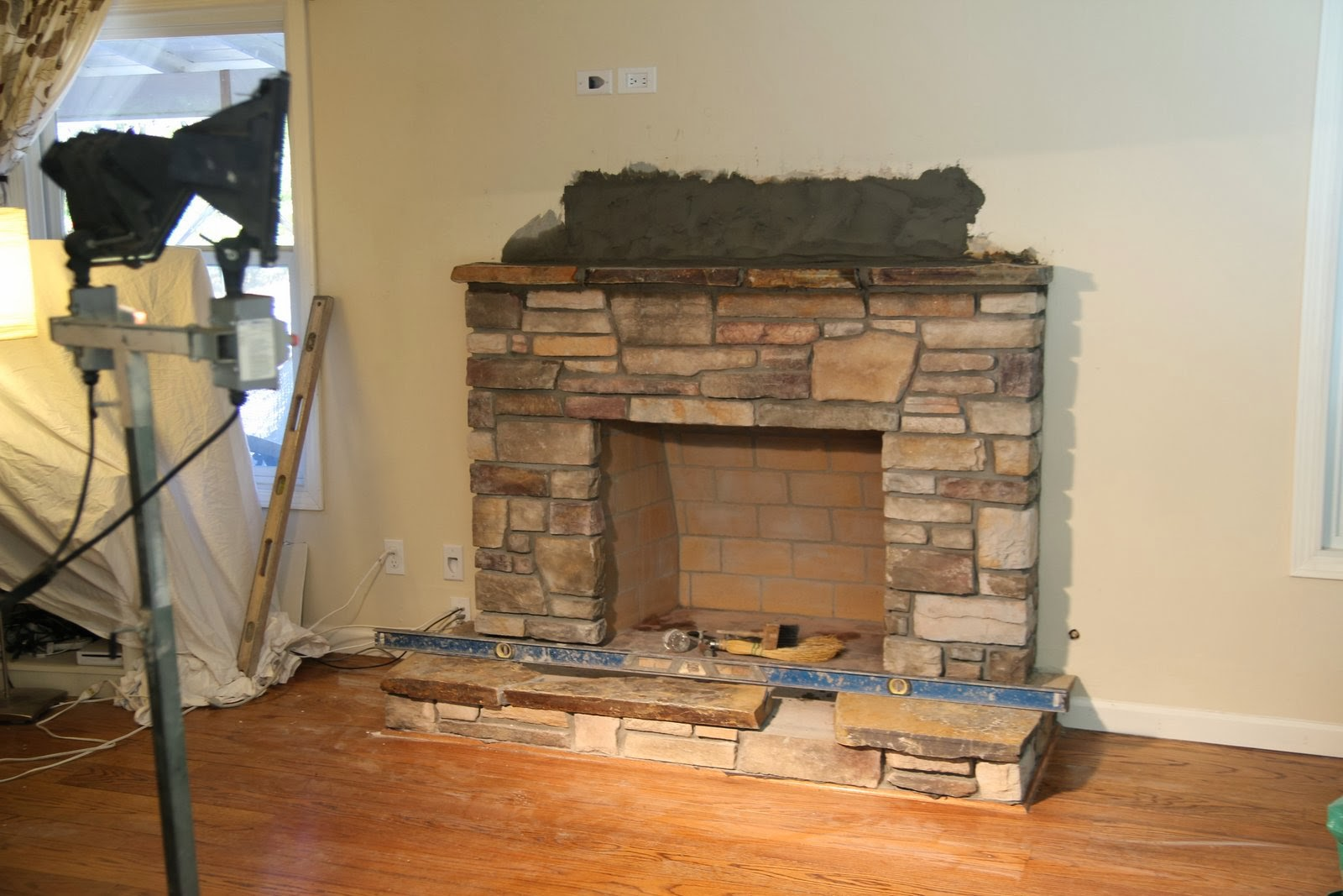 Nicolle\'s Originals: Fireplace Remodel Part 3: Natural Stone ...