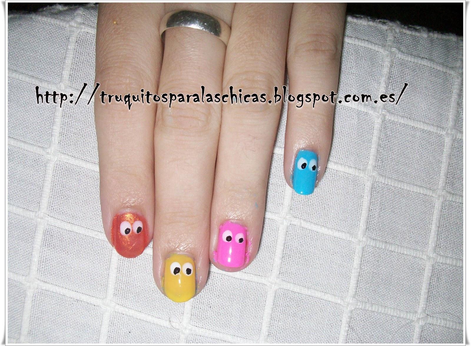 Pintar u as paso a paso faciles de come coco blog de belleza - Como pintarse las unas ...