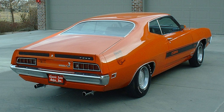 Ford Torino Cobra Twister Special Rear Right View Picture
