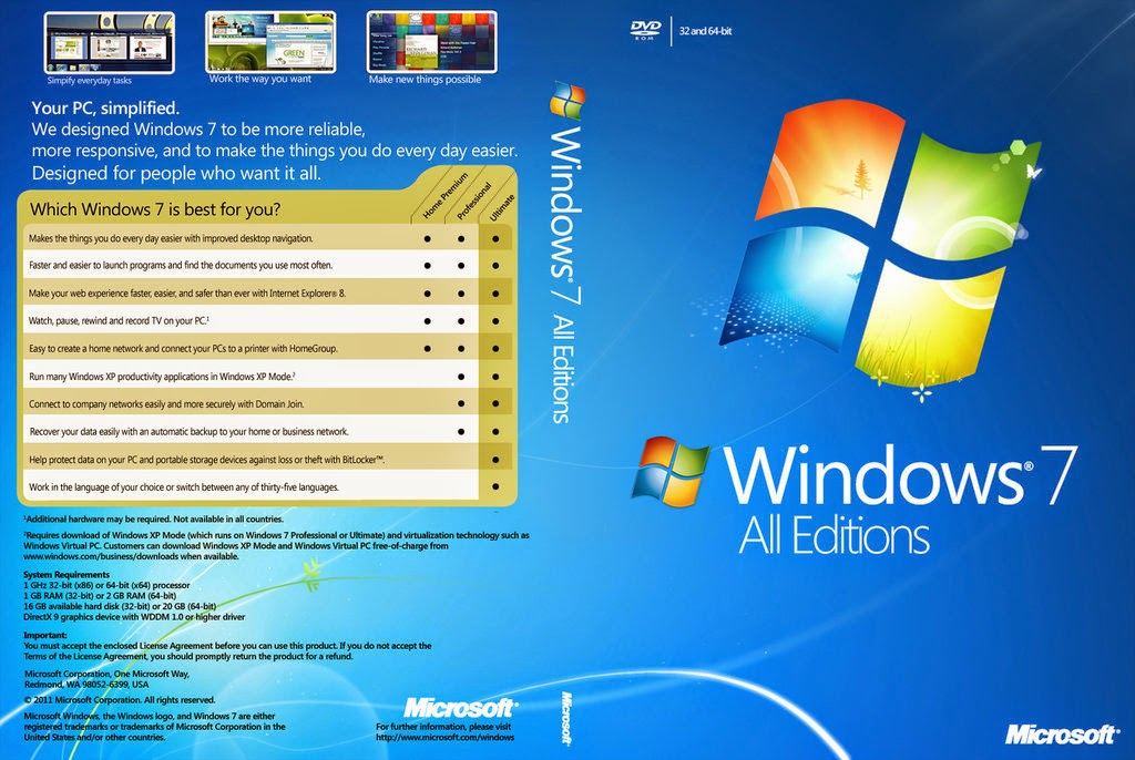 Bit activated download free fast tAiA This Windows 7 ALL Editions, 32bit