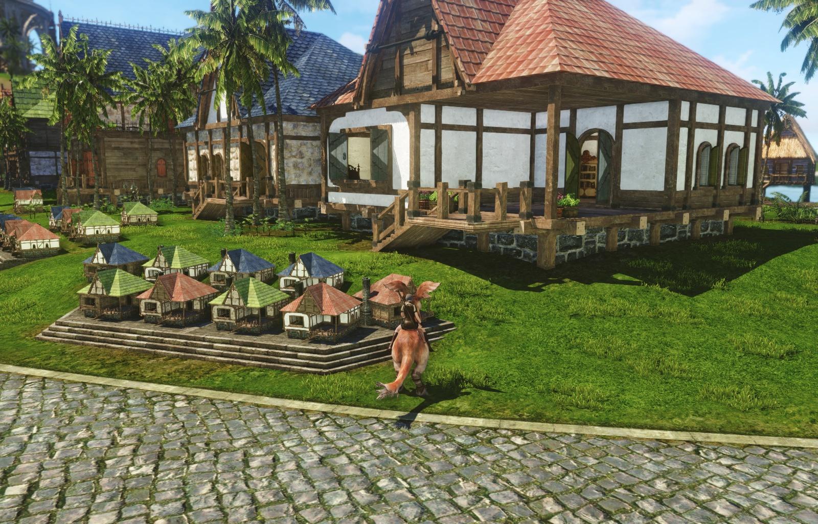 Archeage画像モデルハウス