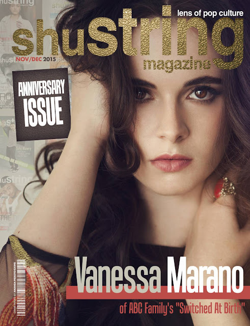 Actress @ Vanessa Marano - ShuString Magazine, November/December 2015