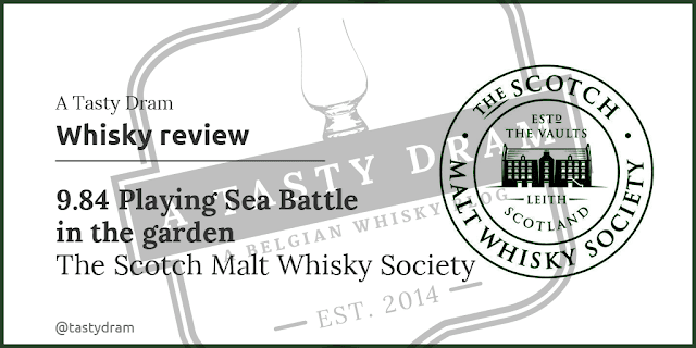 Glen Grant SMWS 9.84 Playing Sea Battle in the Garden