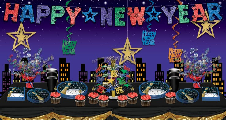 happy new year theme party