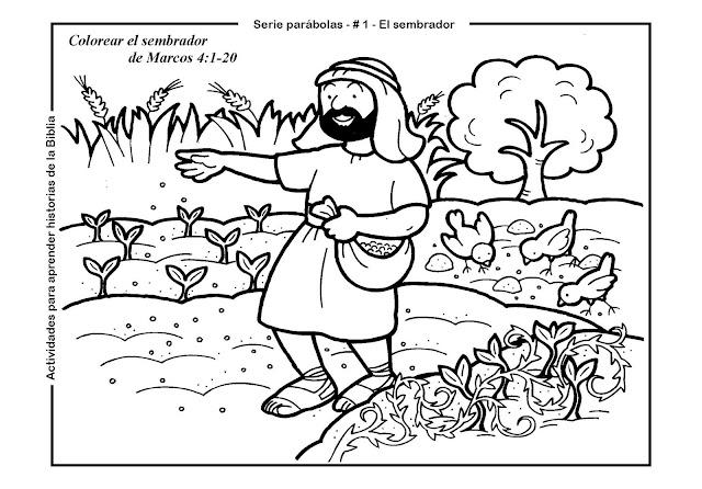SGBlogosfera. Amigos de Jesús: FICHAS: PARÁBOLA DEL SEMBRADOR
