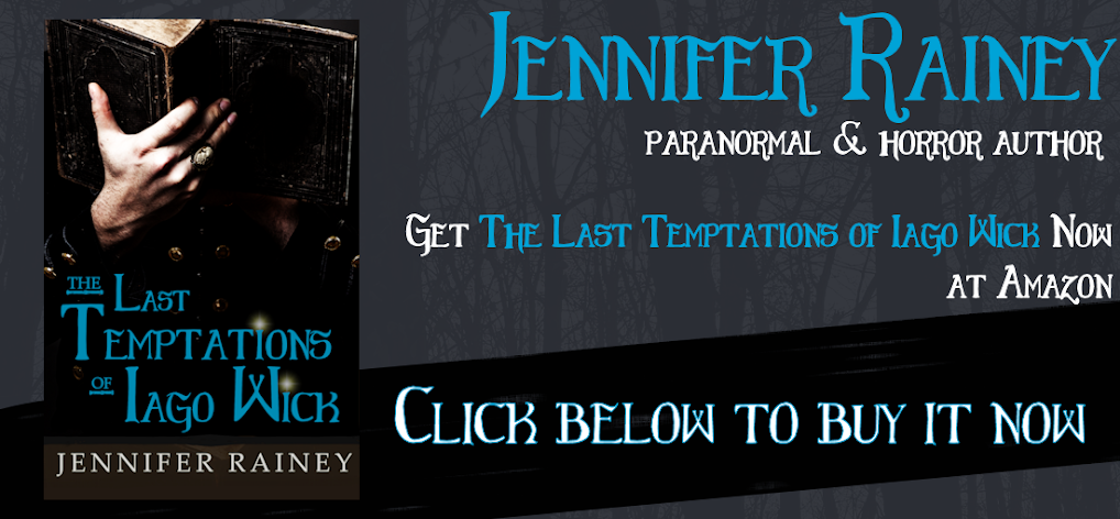Jennifer Rainey: Horror and Paranormal Author