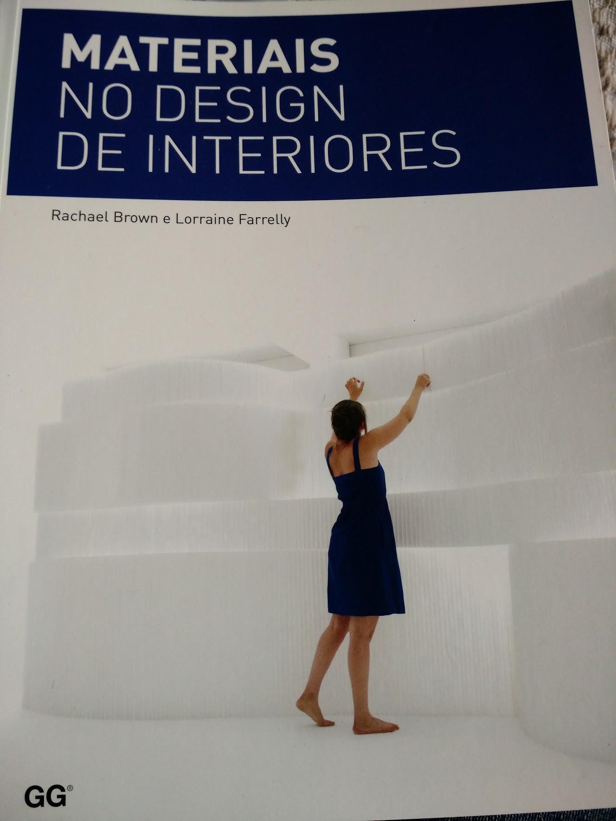 Materiais no Design de Interiores - Leitura