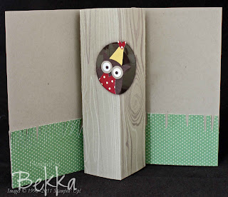 Stampin' Up! Pop Up Owl Punch Card
