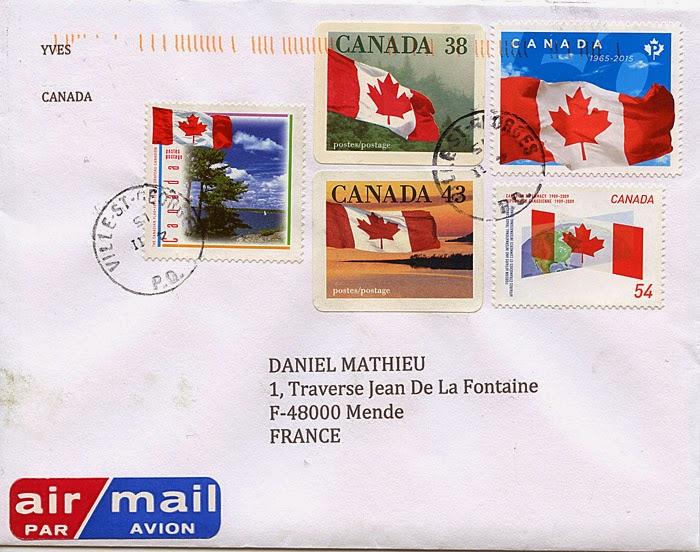 La Bote Aux Lettres Du Monde Lettre Du Canada