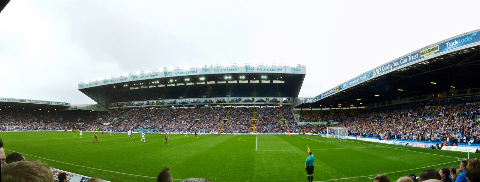 Elland road intimidating atmosphere albums