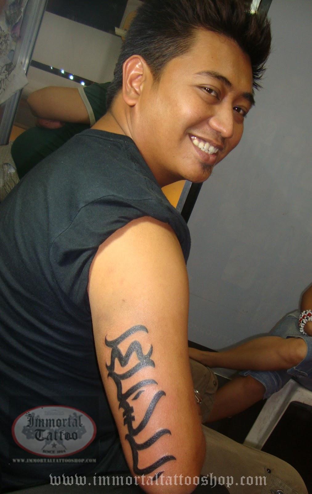 Filipinotattoo alibata filipino tattoo immortaltattoo for Philippine island tattoo