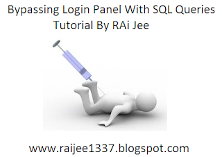 Bypassing Login Panel with SQL Queries