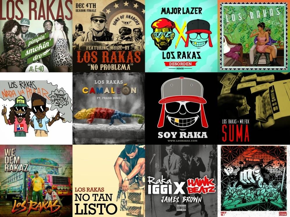 Los Rakas - Singles [2010-2014]