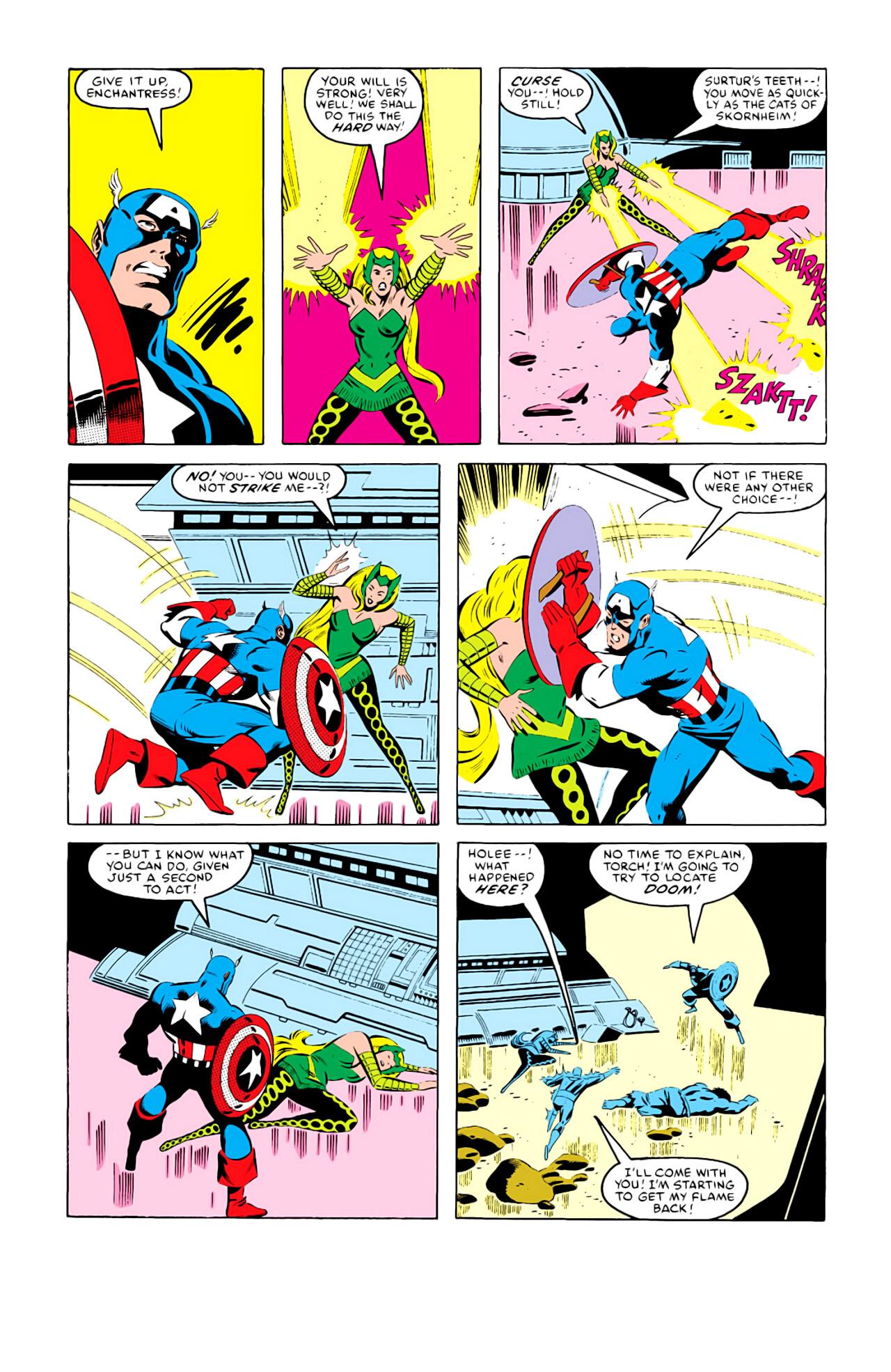 Captain America (1968) Issue #292i #216 - English 11