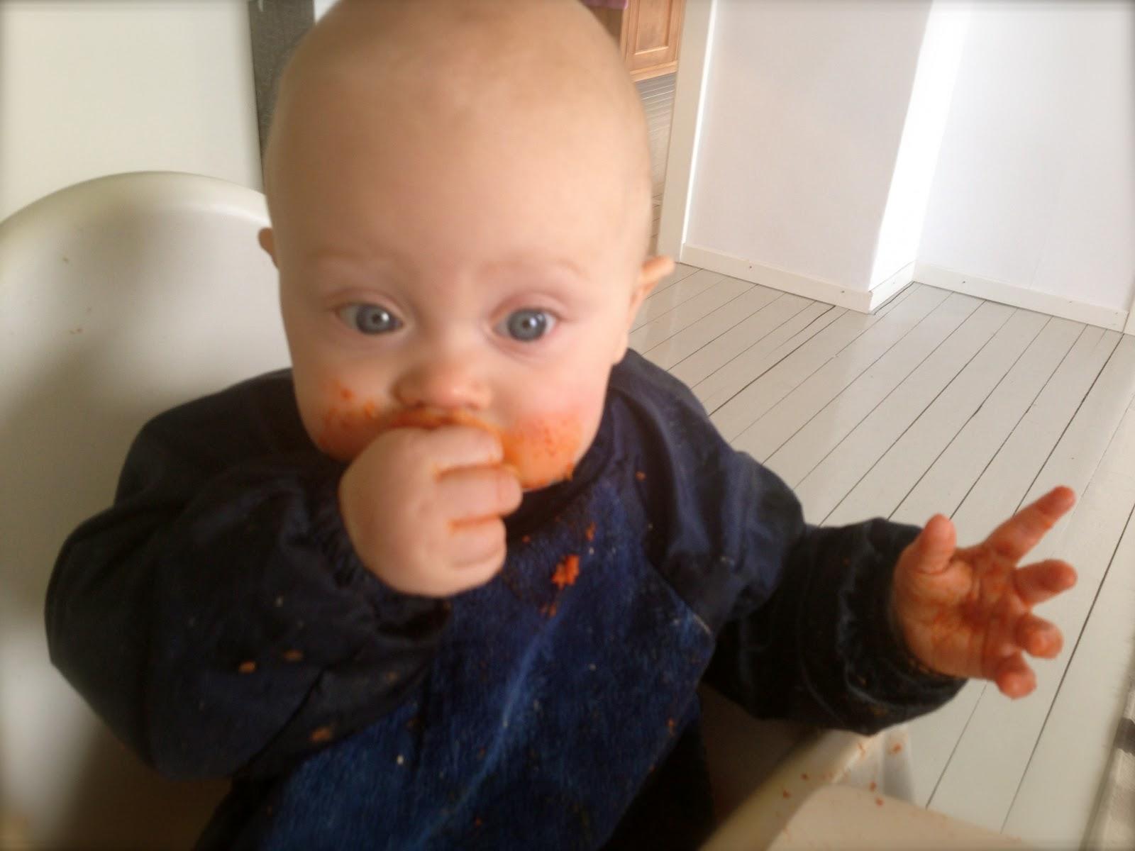 Mat med jern baby