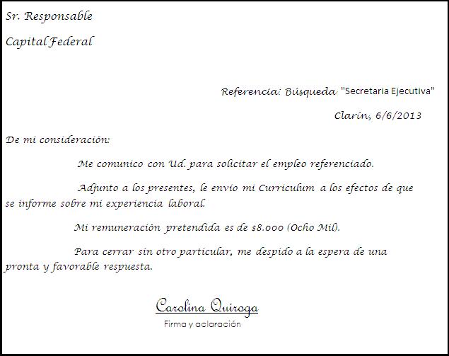 Carolina Quiroga Rodolfo Walsh Carta De Presentacion Curriculum