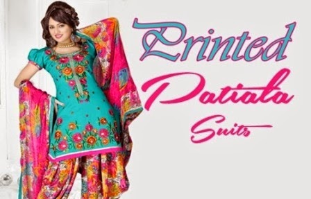 Patiala Salwar Trouser Kurta for Girls