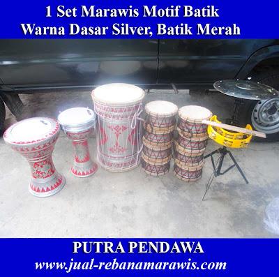1 set Marawis Motif Batik
