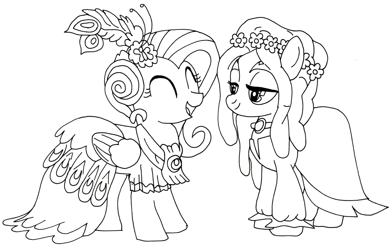 Coloring Pages My Little Pony Printable : Free printable my little pony coloring pages january