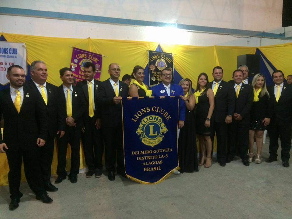 Fundação do Lions Clube Delmiro Gouveia