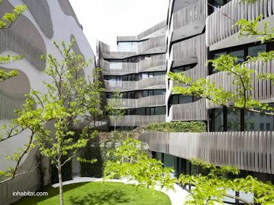 Edificios residenciales ecológicos en Berlín, Alemania