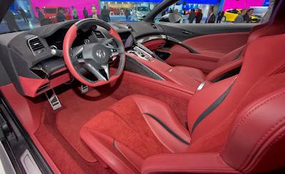 2015 Acura NSX Coupe Interior