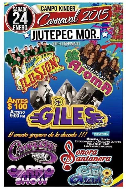 baile de carnaval jiutepec 2015