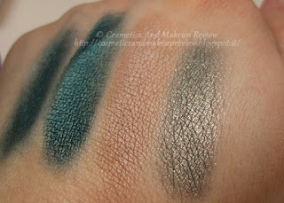 Nabla - Artika Collection - Crème Shadow swatches (Babylon) Aurora, Birki, Husky