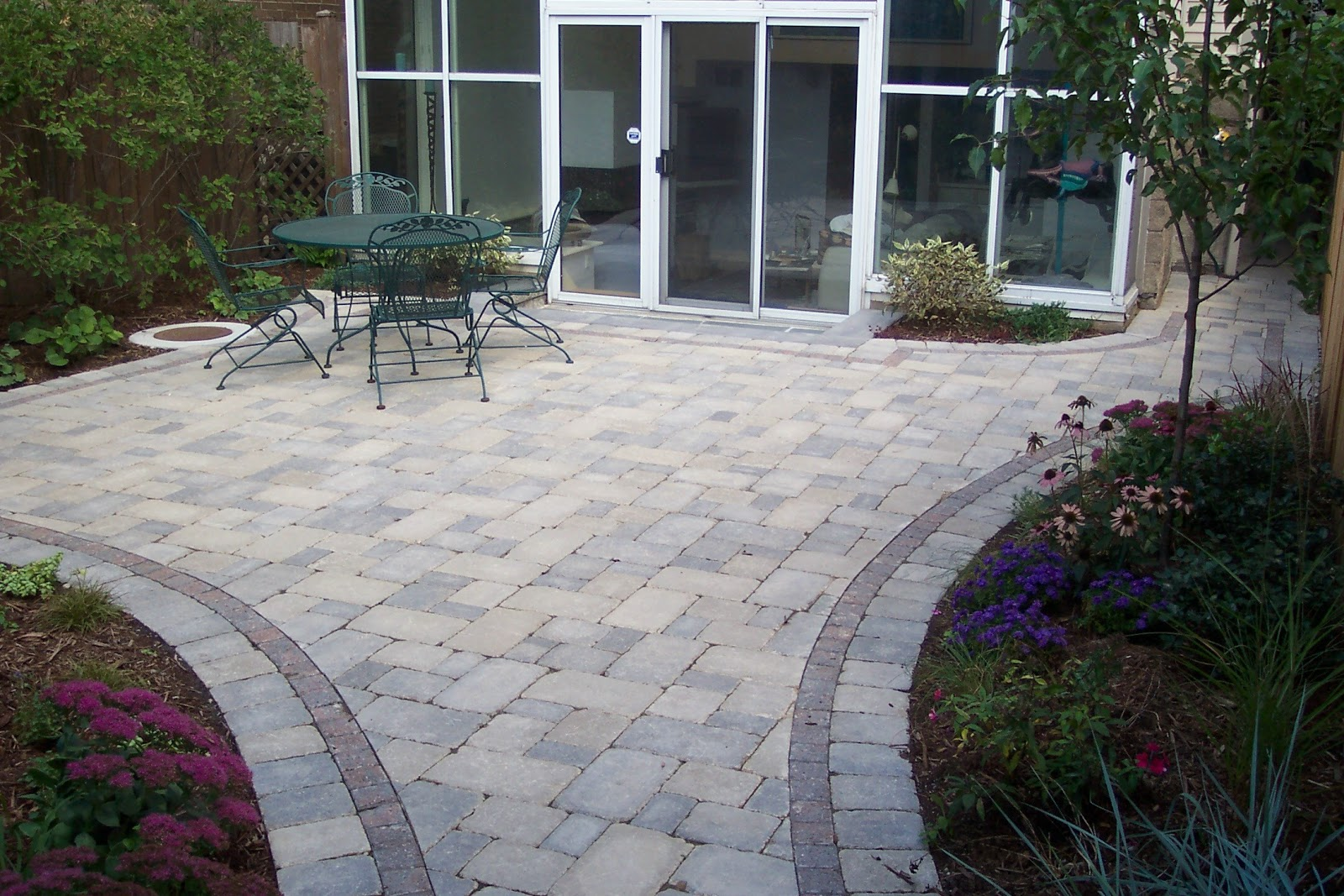 stone patio ideas stone patio pictures houselogic backyard ideas ... - Brick Stone Patio Designs