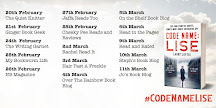 Code Name Lise Blog Tour