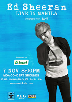 Ed Sheeran Live in Manila