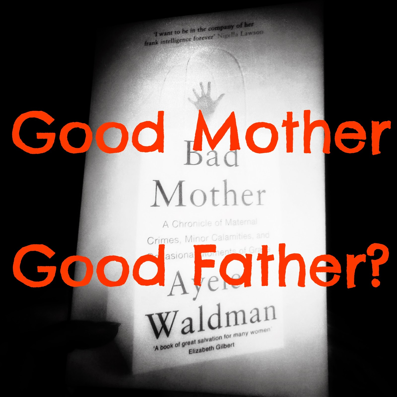 Difference between good mother/good father Ayelet Waldman