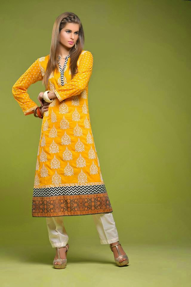 Nimsay Verve Lawn Prints Collection 2015