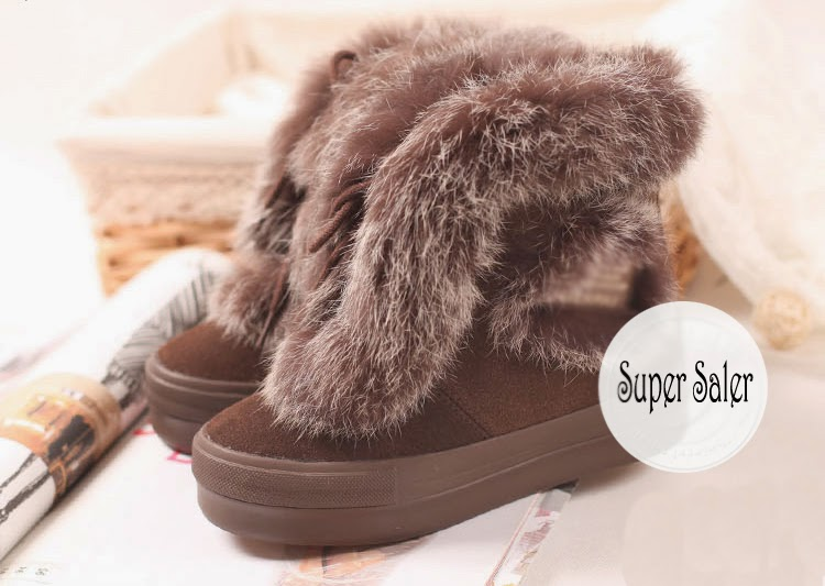 2014 womens fur winter boots