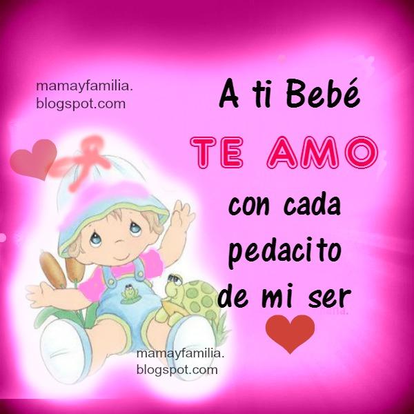 frases bonitas para mi bebé, palabras con lindo mensaje para niños pequeños, bebés, cumple mes de niño niña, bebitos. Poema corto bebé.