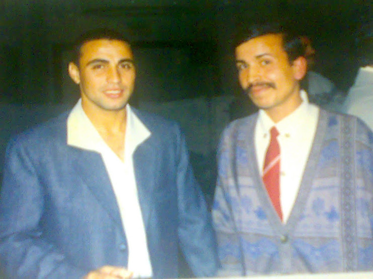 مع الكابتن محمد عماره لاعب المنتخب والنادى الاهلى