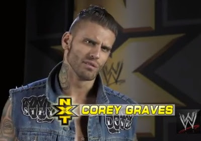Five nxt superstars that deserve to be called up for Corey graves tattoos