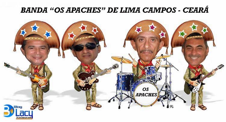 """BANDA """"OS APACHES"""" DE LIMA CAMPOS, CEARÁ"""