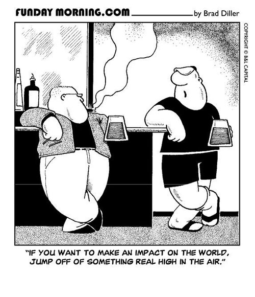 Pity, big bang comic strip