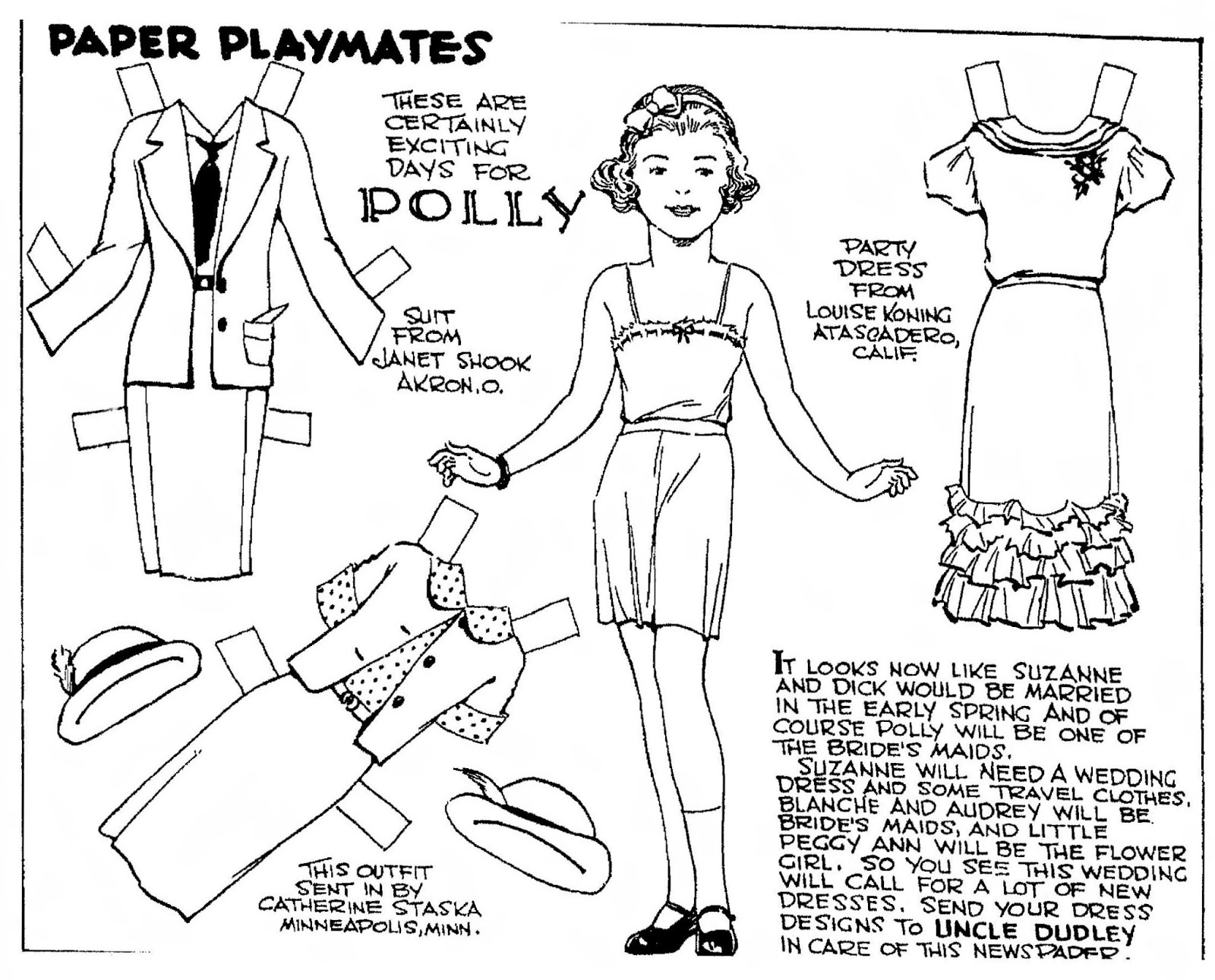 mostly paper dolls too   february 2013