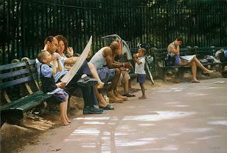 Pintura de Dramatico Contenido Social