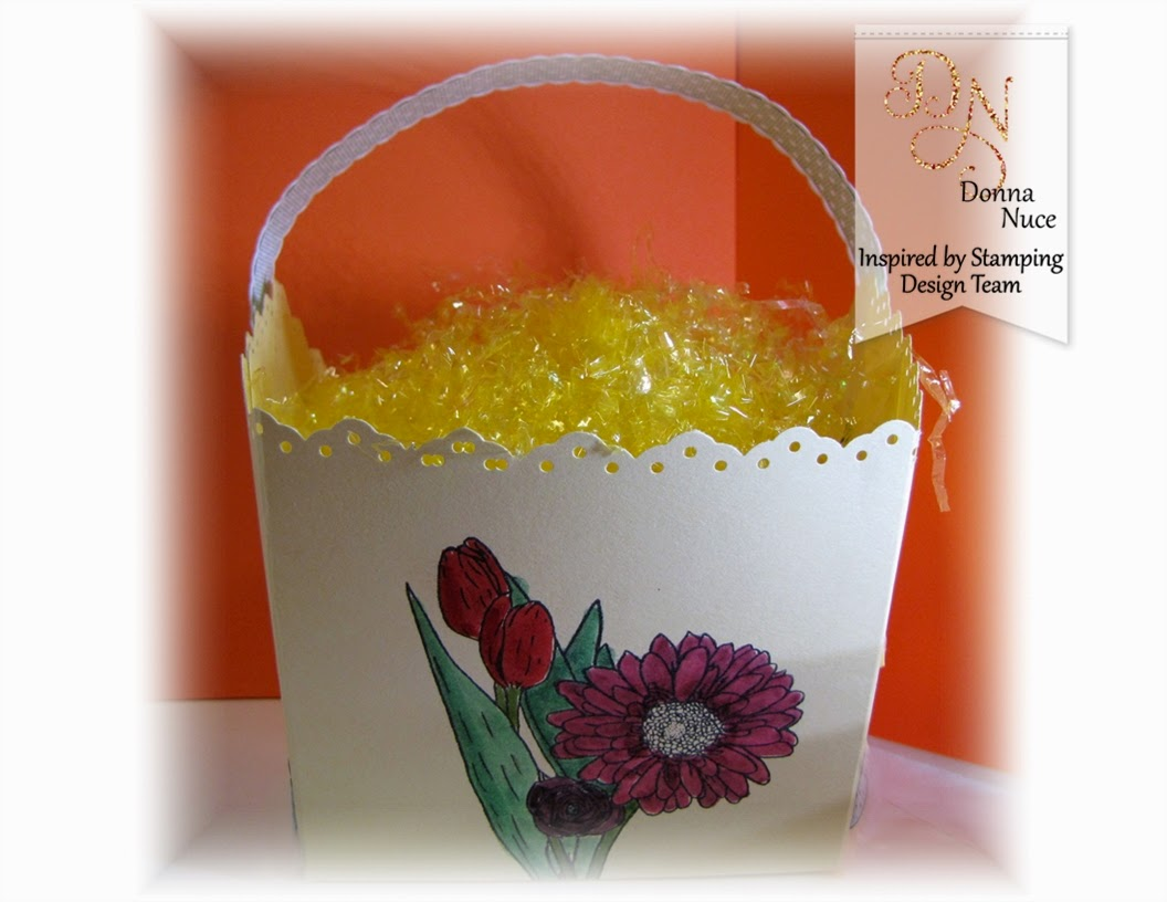 Inspired by Stamping, Crafty Colonel, Spring Bouquet, 3D Easter Basket