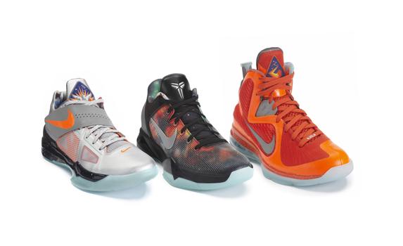 KDIV  Kobe VII  and Lebron 9 Galaxy seriesGalaxy Nike Elite Shoes