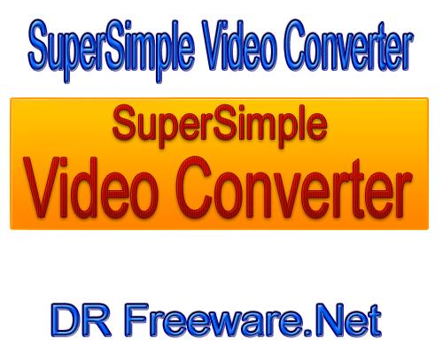 SuperSimple Video Converter 2014 portable Installer Free Download