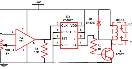 59 wireless switch circuit using cd4027 minor projects for rh minorprojects0603 blogspot com