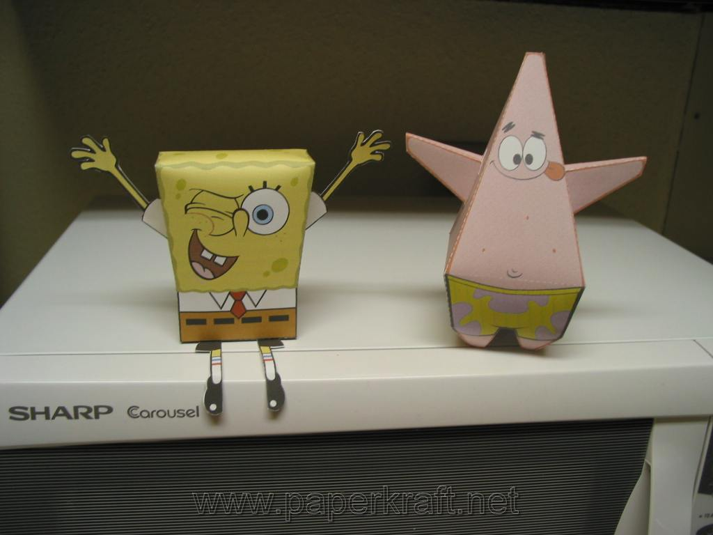spongebob squarepants the paper