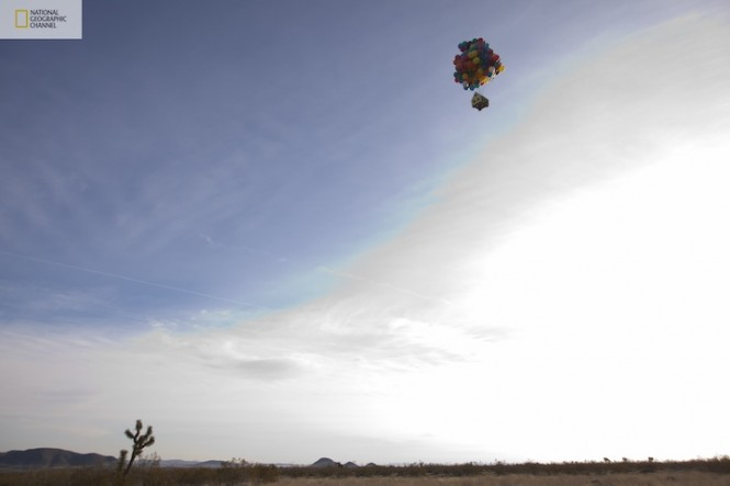 pixar up house model. Pixar#39;s Up Movie Recreated
