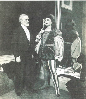 Baritone Victor Maurel and Verdi