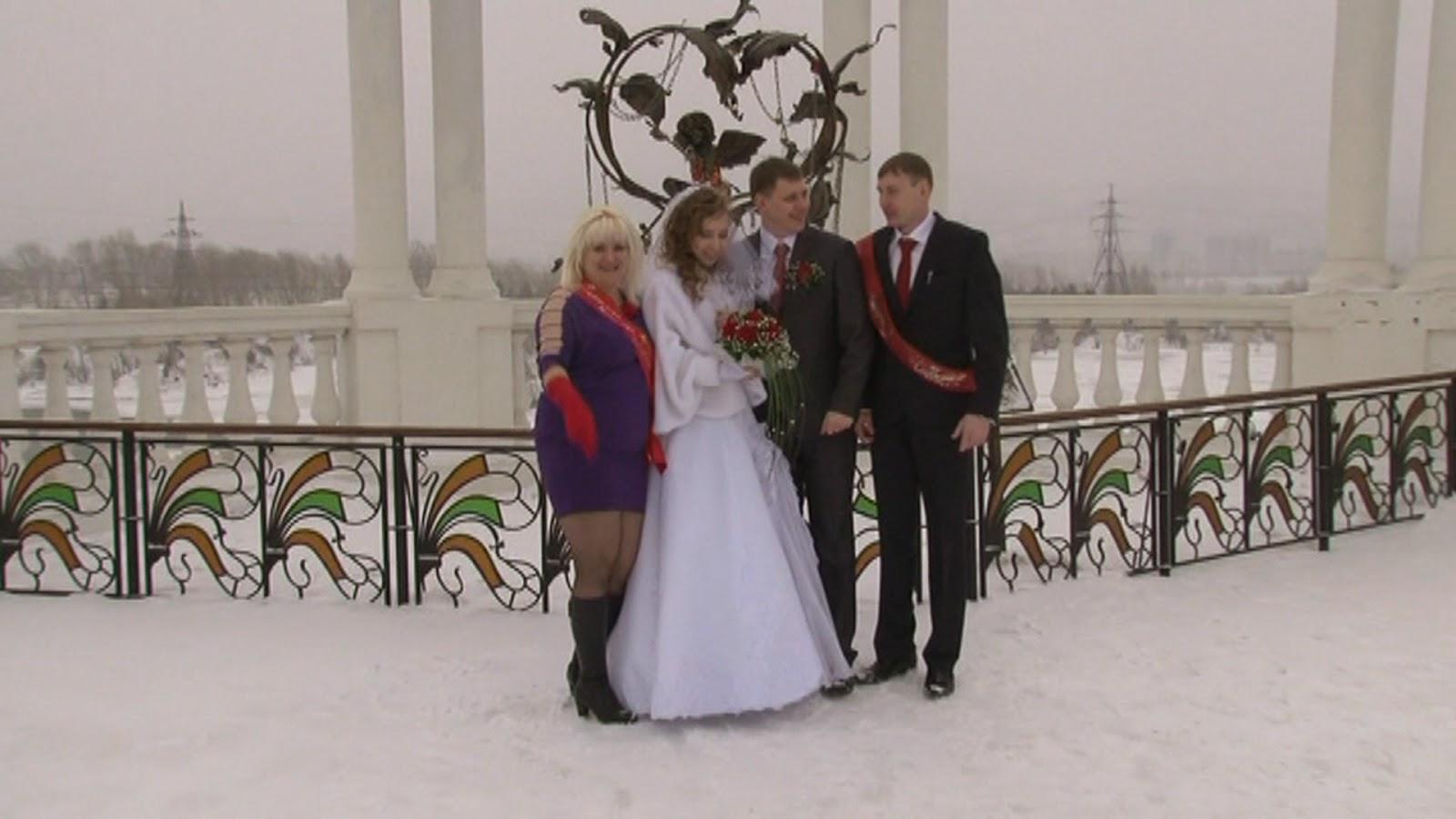 свадьбы в парке им. Горького