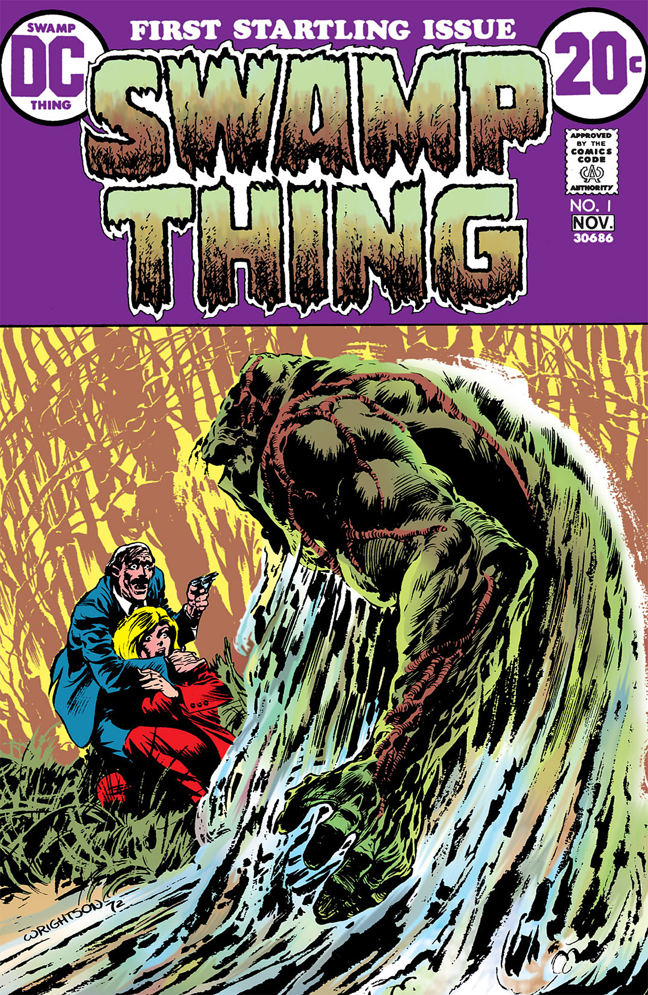 Swamp Thing (1972) Issue #1 #1 - English 1
